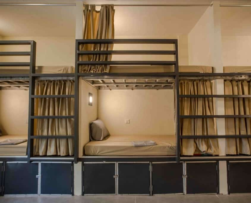 Doublebeds in AC-Dorm - Nest Hostel on Koh Rong