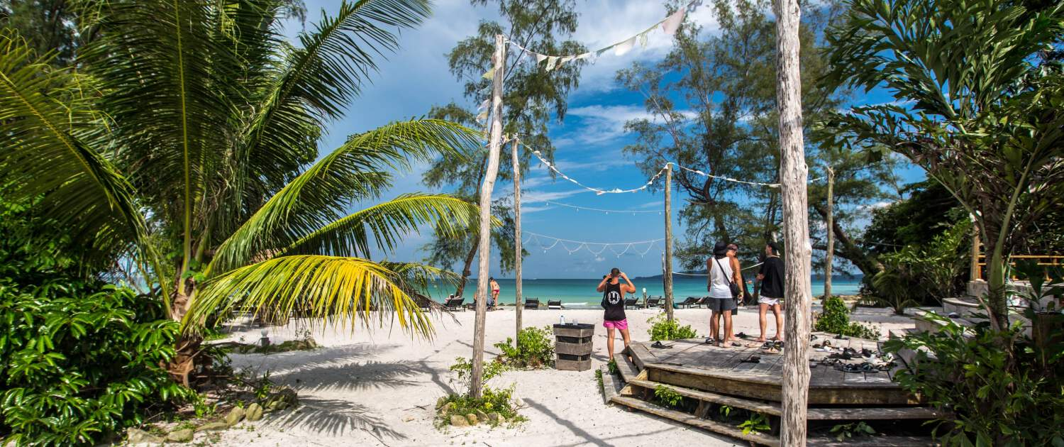 Beachtime on Koh Rong, Hostel in Cambodia, Nest Beach Club