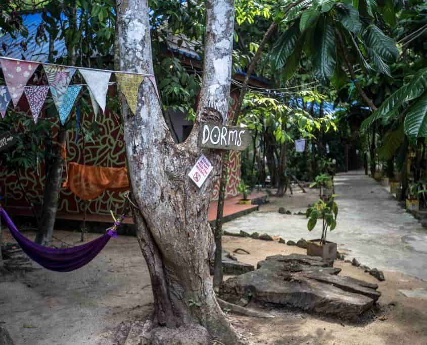 Festival Hostel Koh Rong, Restaurant und Bar Cambodia, AC Dorms