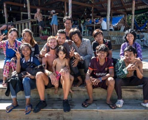 Hostel Koh Rong Island Cambodia, Nest Beach Club