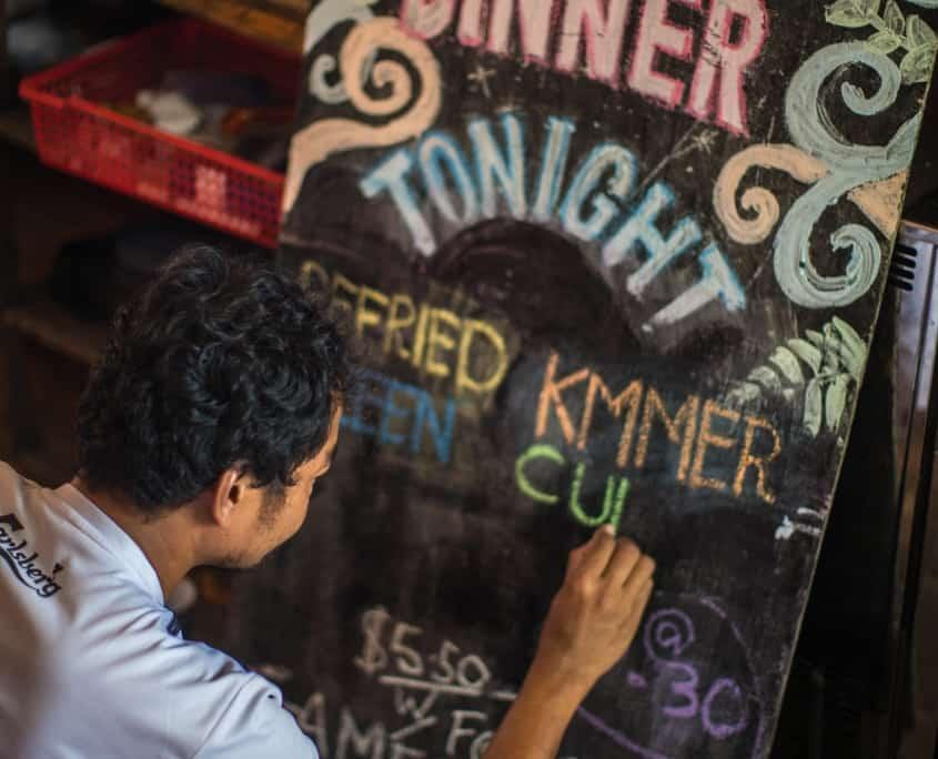 hostel & Restaurant in cambodia, koh rong, backpacker