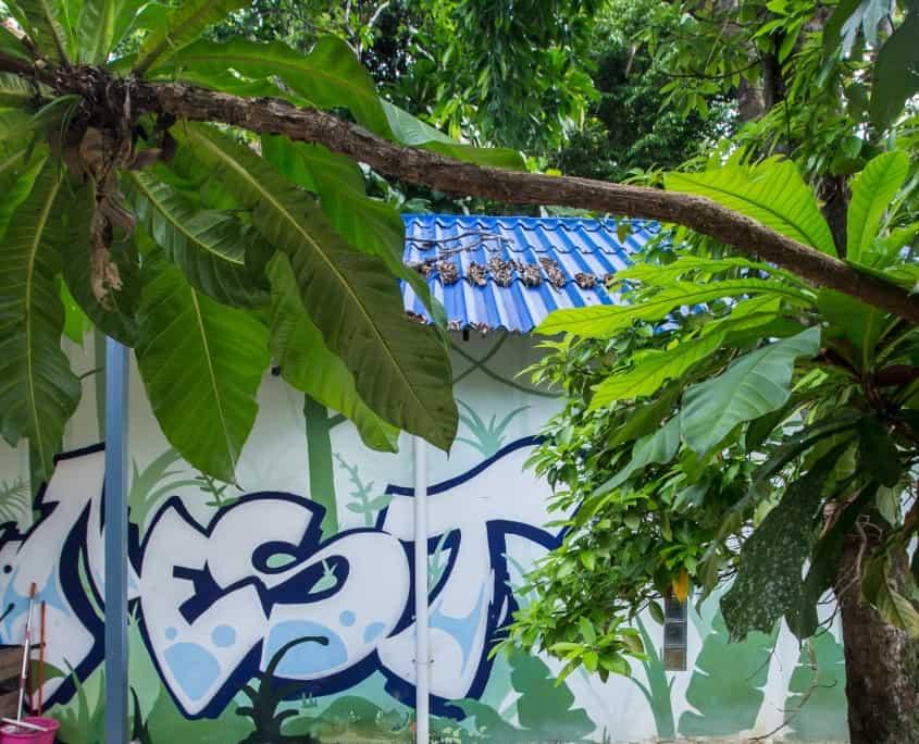 Jungle Hostel Koh Rong, Restaurant und Bar Cambodia, AC Dorms