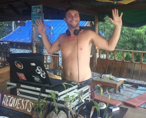 Tunes at Nest Beach Club Hostel Koh Rong Cambodia